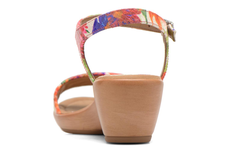 Sandales et nu-pieds Unisa Irita Multicolore vue droite