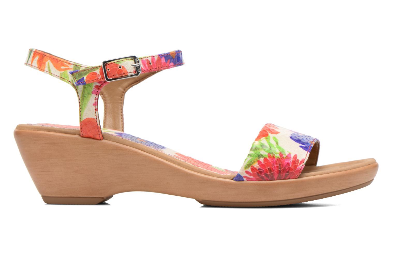 Sandales et nu-pieds Unisa Irita Multicolore vue derrière