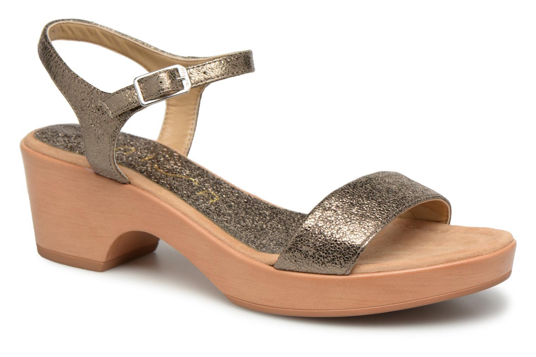 Grandes descuentos últimos zapatos Unisa Irita (Oro y bronce) - Sandalias Descuento