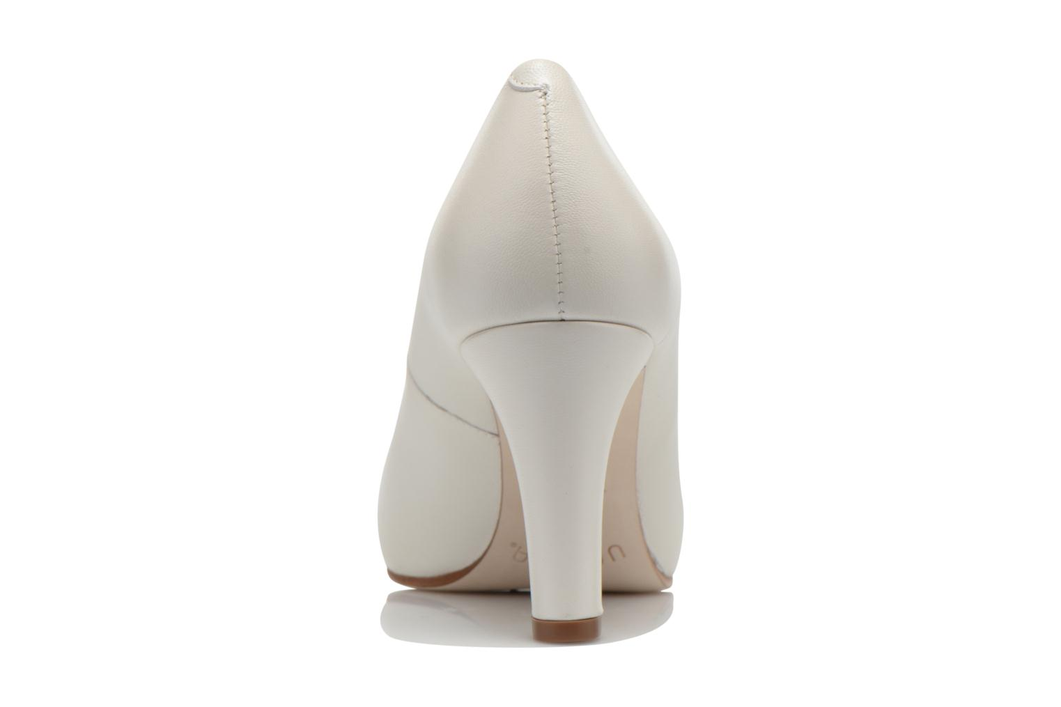 High heels Unisa Numis White view from the right