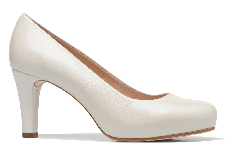 High heels Unisa Numis White back view