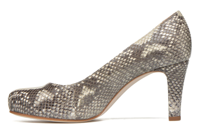High heels Unisa Numis Beige front view