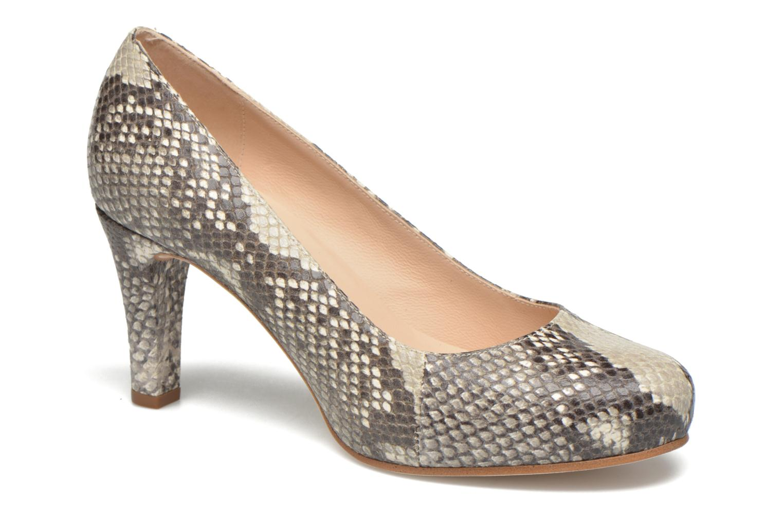 High heels Unisa Numis Beige detailed view/ Pair view