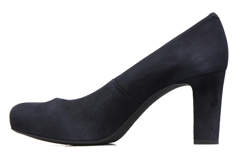 Zapatos de tacón Unisa Numis Azul vista de frente