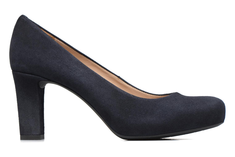 Zapatos de tacón Unisa Numis Azul vistra trasera