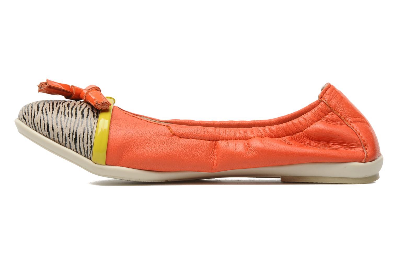 Ballerines Kenzo Yael Orange vue face