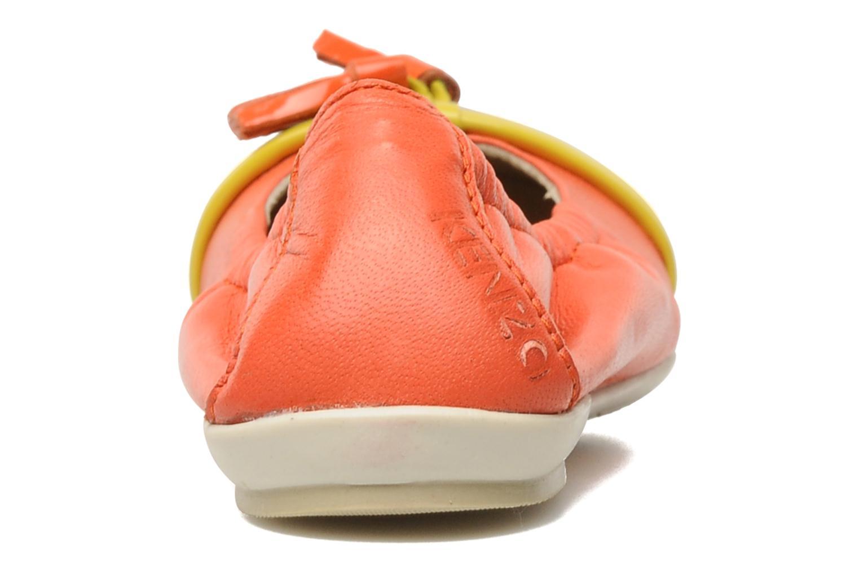Ballerines Kenzo Yael Orange vue droite