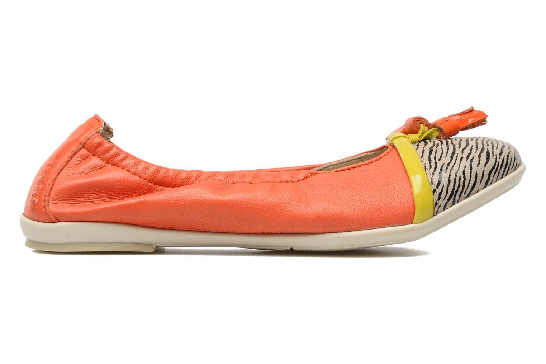 Ballerines Kenzo Yael Orange vue derrière