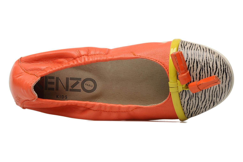 Ballerines Kenzo Yael Orange vue gauche