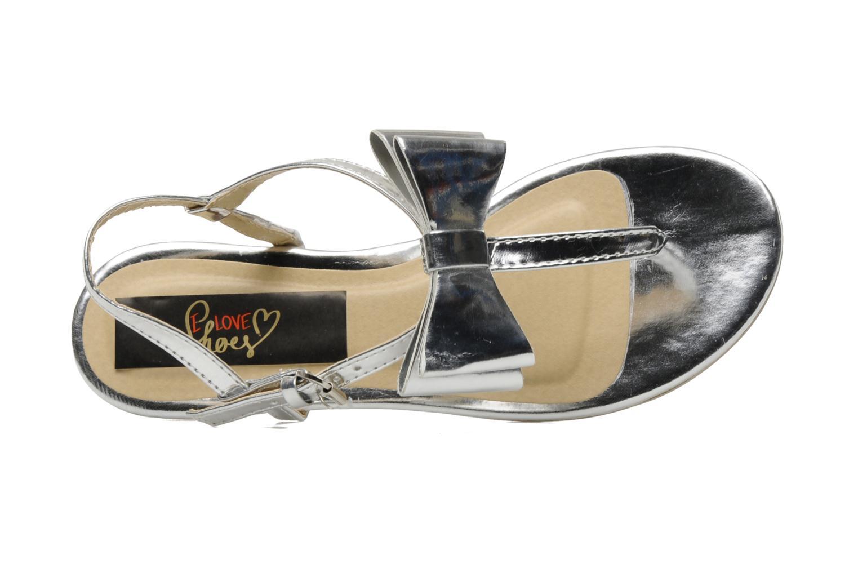 Sandalen I Love Shoes Pholala Zilver links