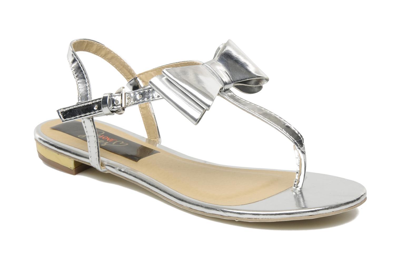 Sandalen I Love Shoes Pholala Zilver detail