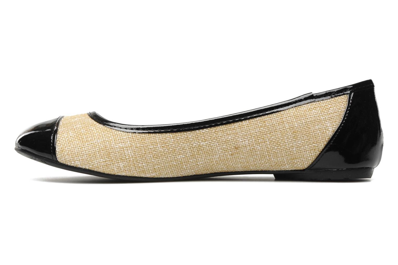 Ballerines I Love Shoes Phoquenby Noir vue face