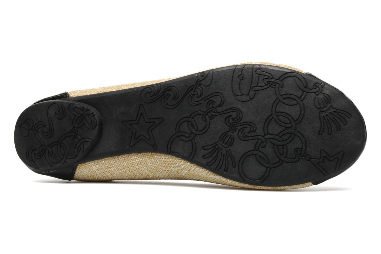 Ballerines I Love Shoes Phoquenby Noir vue haut