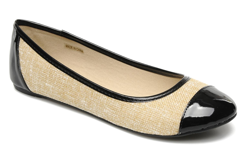 Ballerines I Love Shoes Phoquenby Noir vue détail/paire