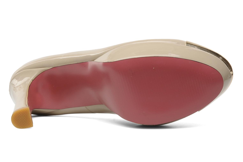Escarpins I Love Shoes Phofolle Beige vue haut
