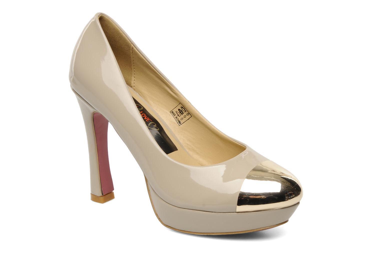 Escarpins I Love Shoes Phofolle Beige vue détail/paire