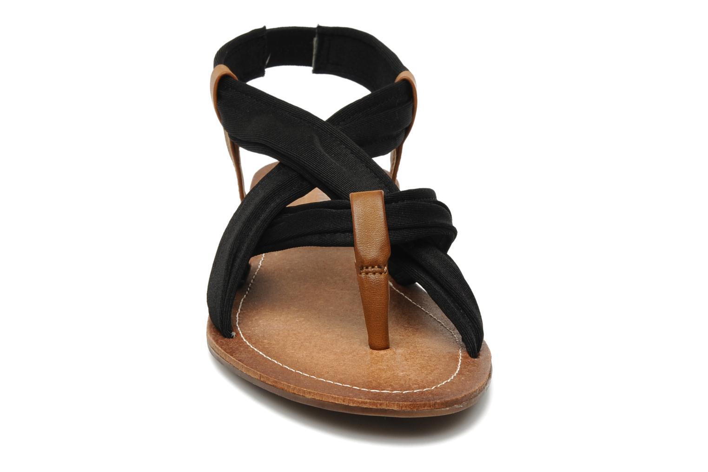 Sandales et nu-pieds Best Mountain Millenium Noir vue portées chaussures