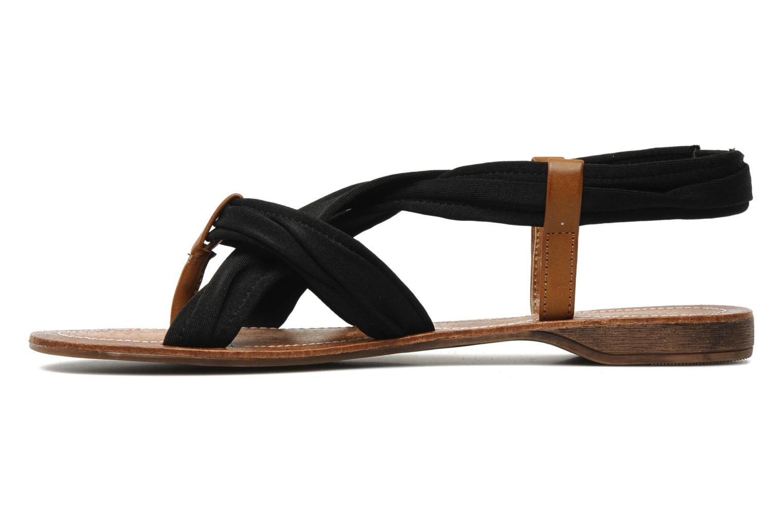 Sandales et nu-pieds Best Mountain Millenium Noir vue face