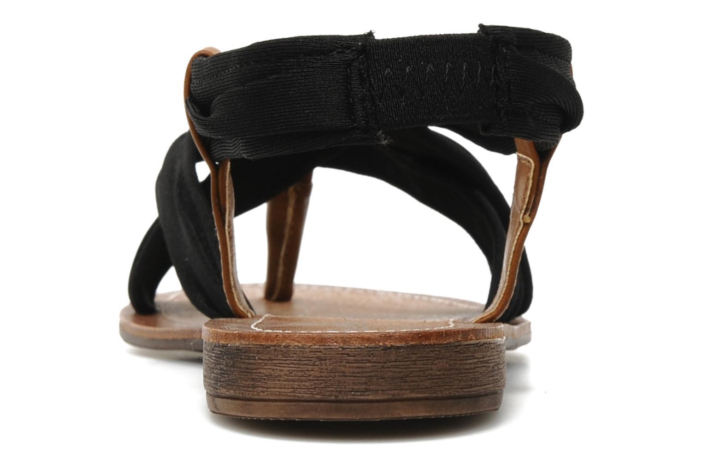 Sandales et nu-pieds Best Mountain Millenium Noir vue droite