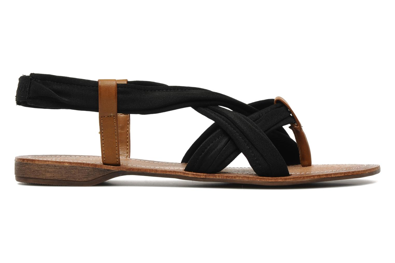 Sandales et nu-pieds Best Mountain Millenium Noir vue derrière