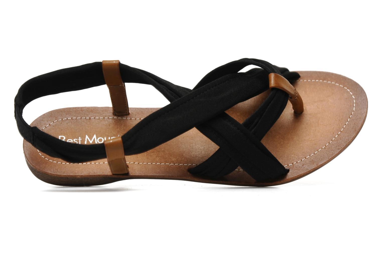 Sandales et nu-pieds Best Mountain Millenium Noir vue gauche