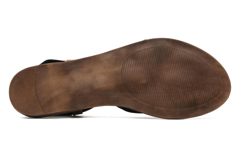 Sandales et nu-pieds Best Mountain Millenium Noir vue haut