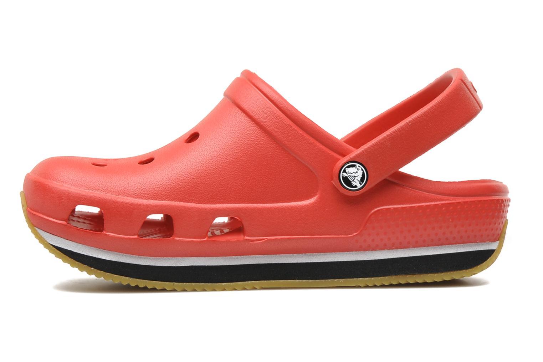 Sandales et nu-pieds Crocs Cros Retro Clog Kids Rouge vue face