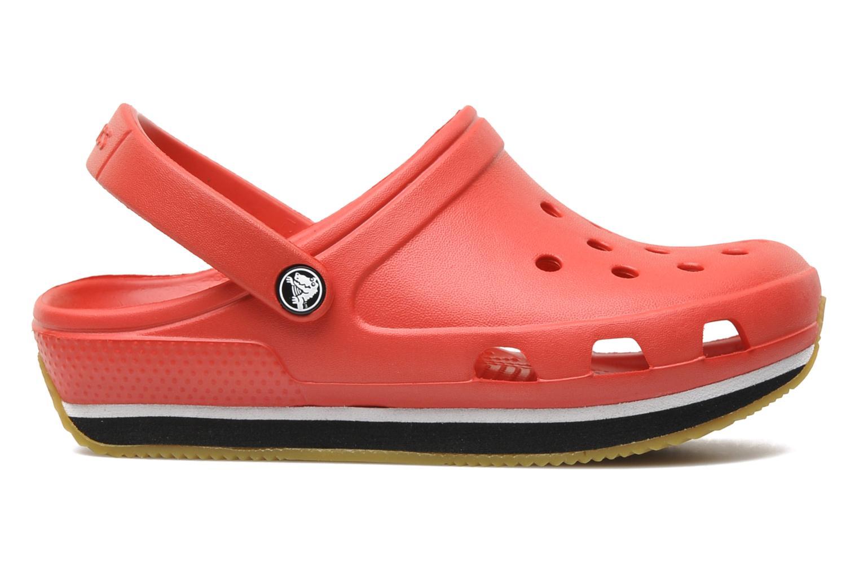 Sandales et nu-pieds Crocs Cros Retro Clog Kids Rouge vue derrière