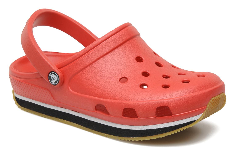 Sandalen Crocs Cros Retro Clog Kids Rood detail