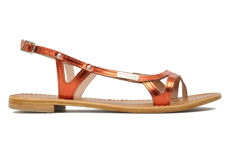 Sandales et nu-pieds Les Tropéziennes par M Belarbi Isatis Rouge vue derrière