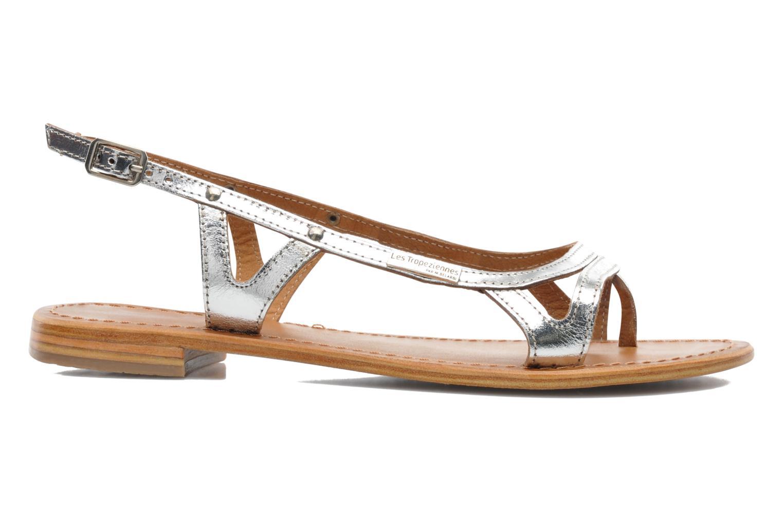 Sandalen Les Tropéziennes par M Belarbi Isatis silber ansicht von hinten