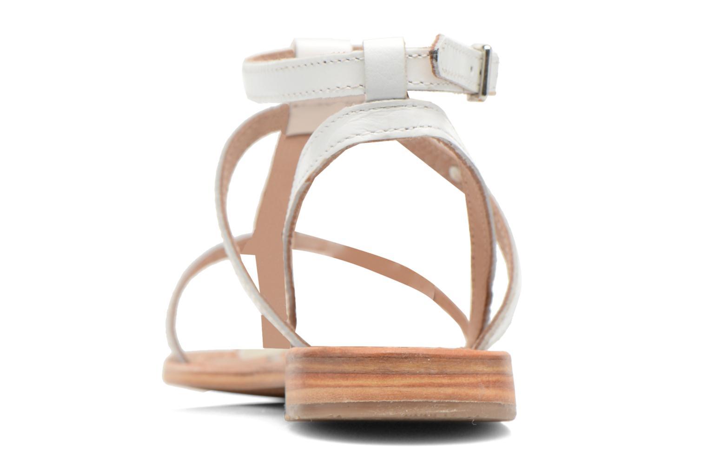 Sandales et nu-pieds Les Tropéziennes par M Belarbi Hilan Blanc vue droite