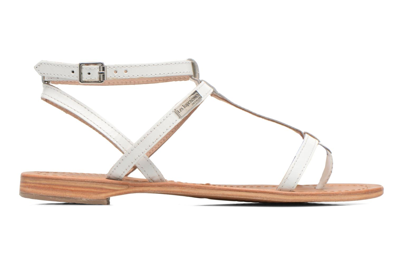 Sandales et nu-pieds Les Tropéziennes par M Belarbi Hilan Blanc vue derrière