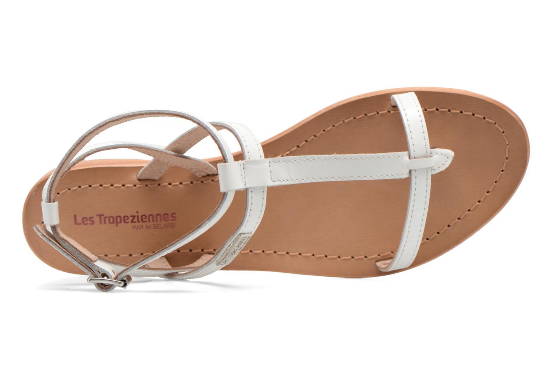 Sandales et nu-pieds Les Tropéziennes par M Belarbi Hilan Blanc vue gauche