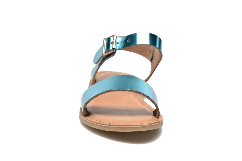 Sandalen Les Tropéziennes par M Belarbi Hiliona grün schuhe getragen