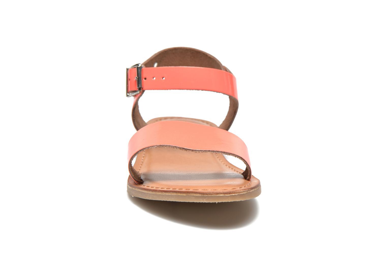 Sandali e scarpe aperte Les Tropéziennes par M Belarbi Hiliona Arancione modello indossato