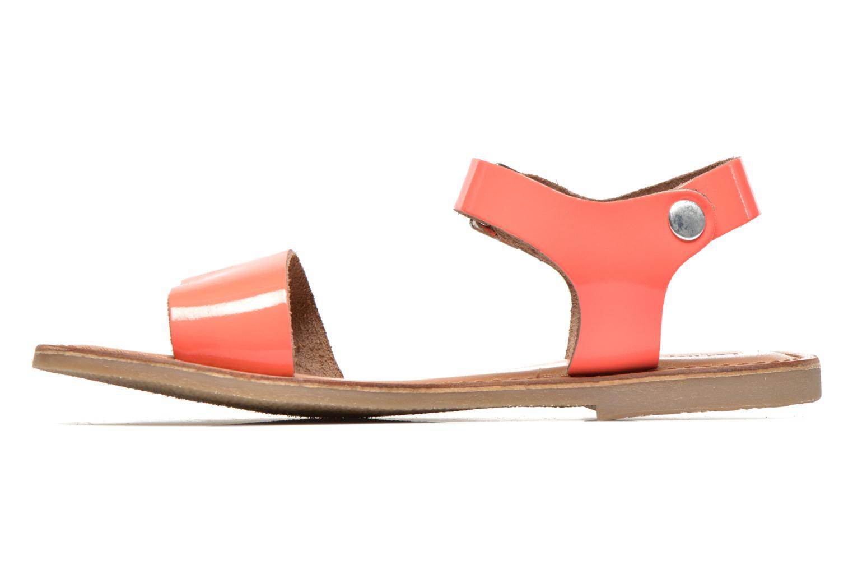 Sandali e scarpe aperte Les Tropéziennes par M Belarbi Hiliona Arancione immagine frontale