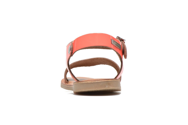 Sandali e scarpe aperte Les Tropéziennes par M Belarbi Hiliona Arancione immagine destra