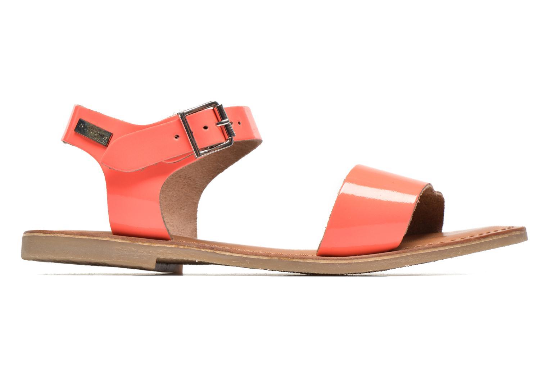 Sandali e scarpe aperte Les Tropéziennes par M Belarbi Hiliona Arancione immagine posteriore