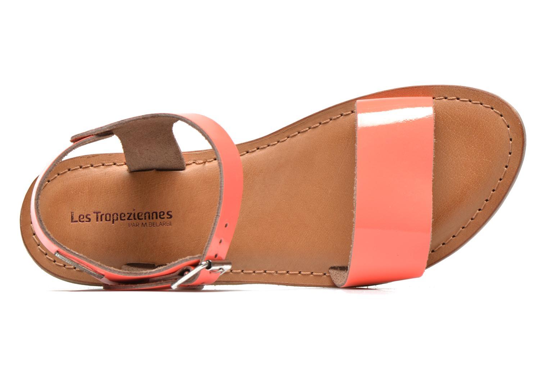 Sandalen Les Tropéziennes par M Belarbi Hiliona orange ansicht von links