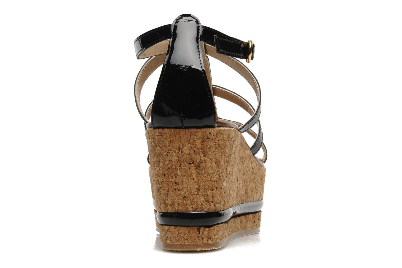 Sandales et nu-pieds Tapeet Tipia Noir vue droite