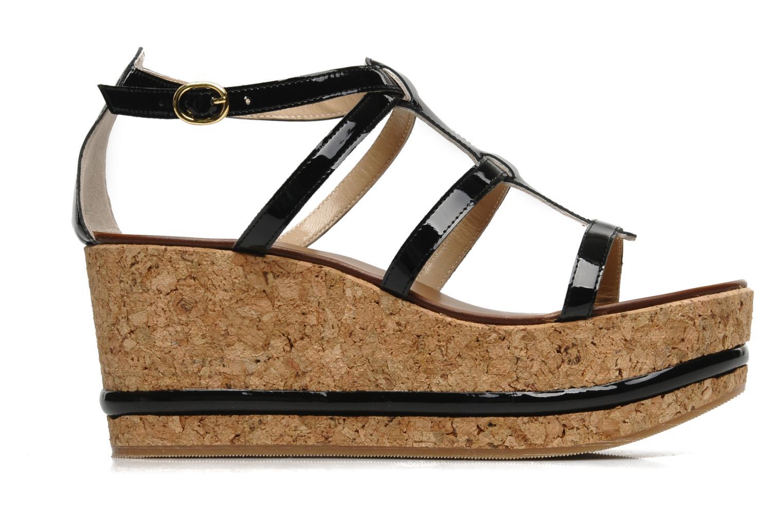 Sandales et nu-pieds Tapeet Tipia Noir vue derrière