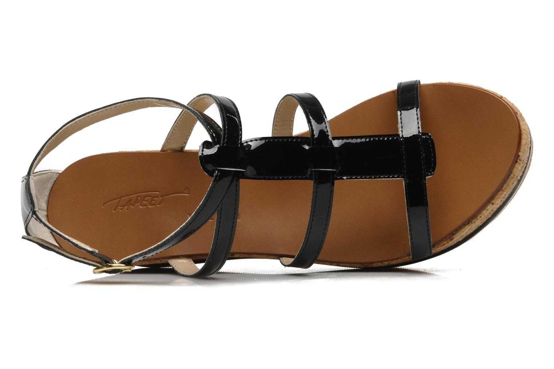 Sandales et nu-pieds Tapeet Tipia Noir vue gauche