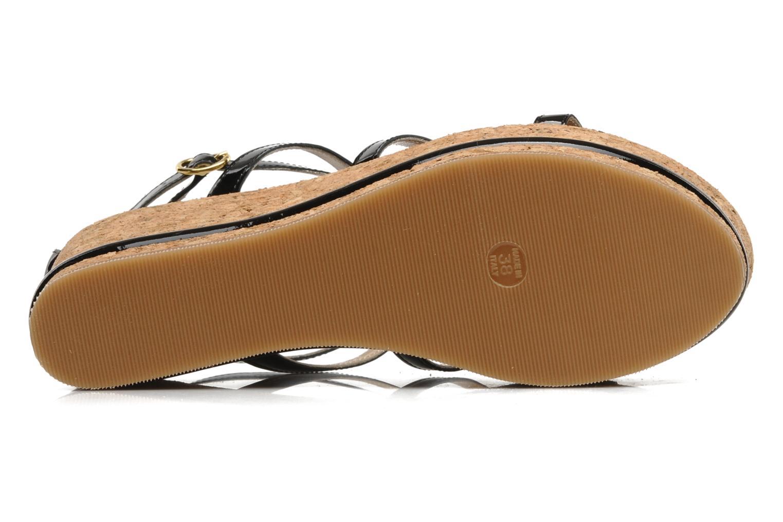 Sandales et nu-pieds Tapeet Tipia Noir vue haut