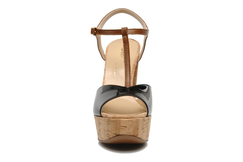Sandals Tapeet Tomia Black model view