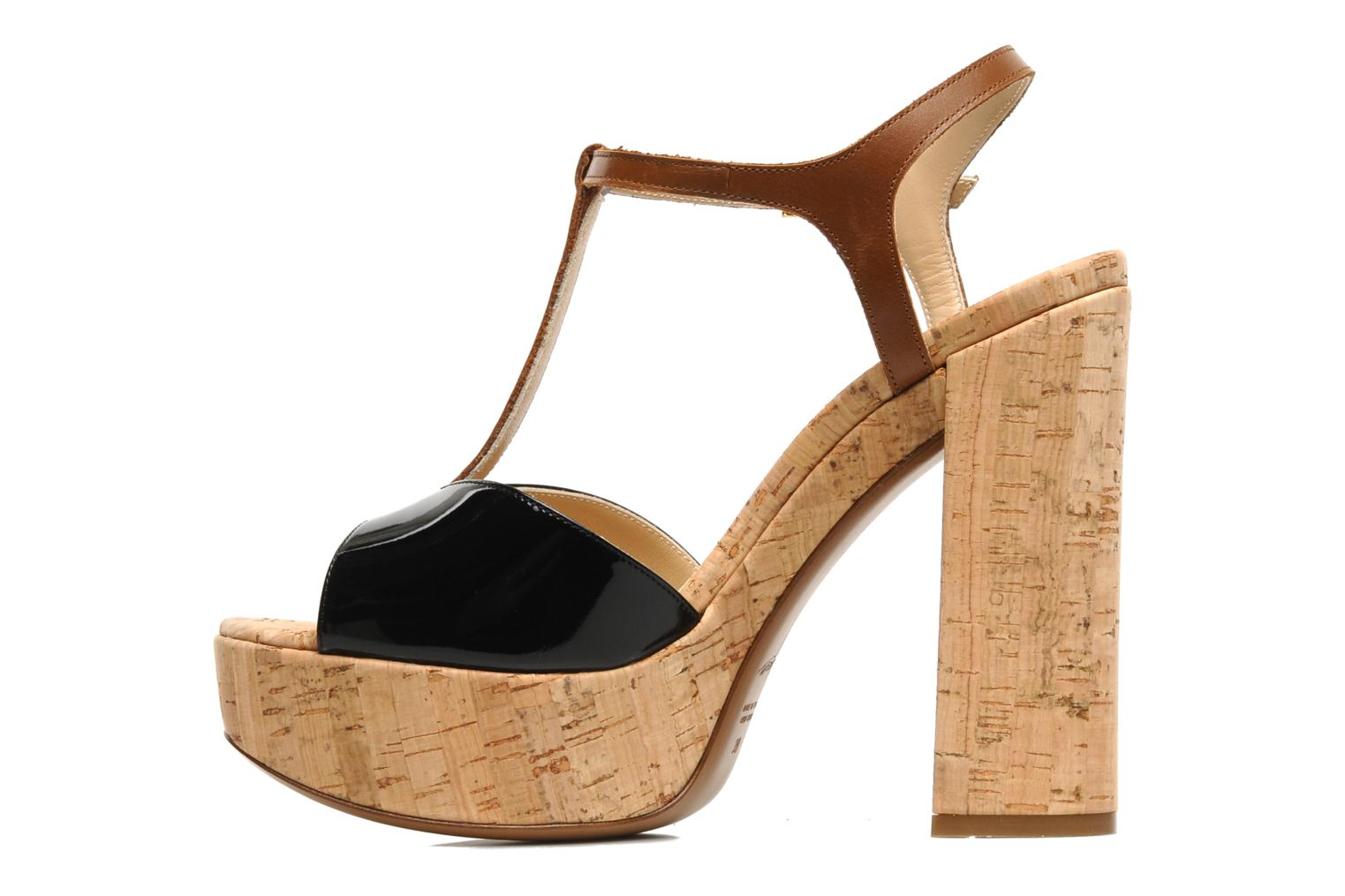 Sandals Tapeet Tomia Black front view