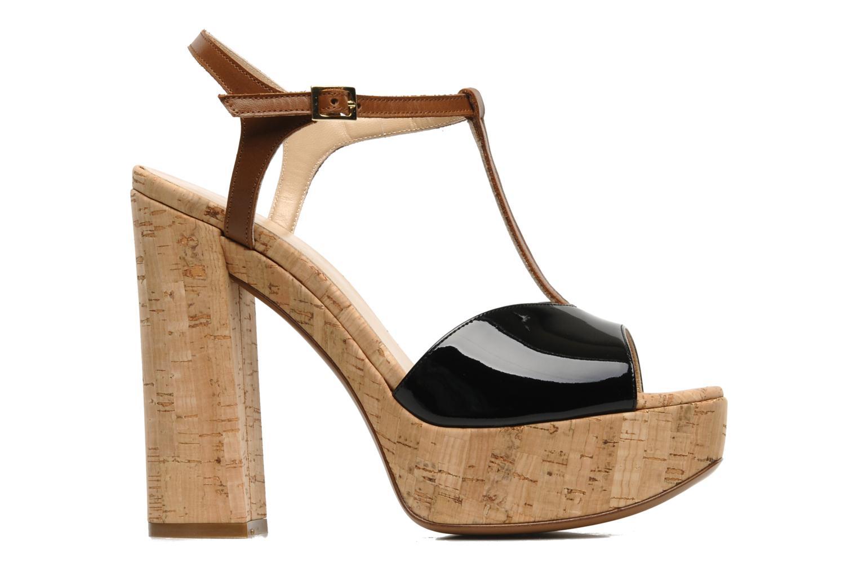 Sandalen Tapeet Tomia schwarz ansicht von hinten