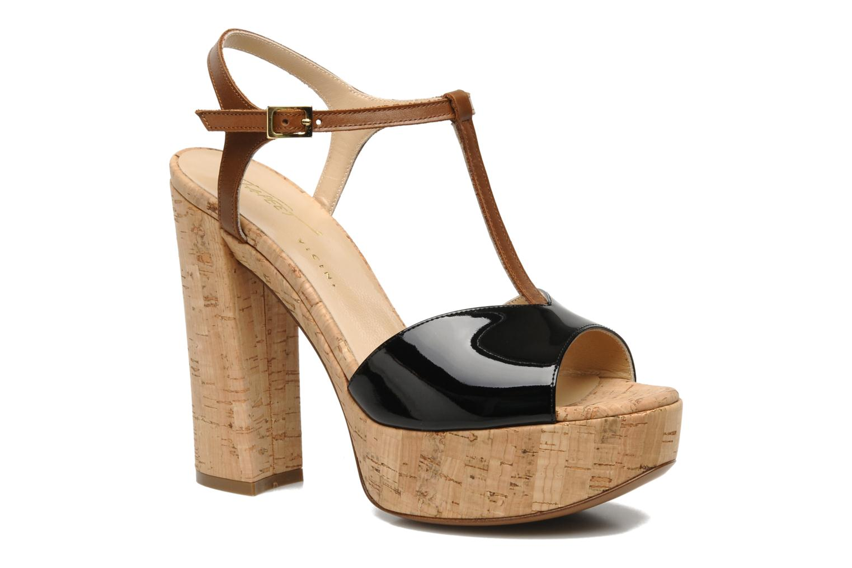 Sandalen Tapeet Tomia schwarz detaillierte ansicht/modell