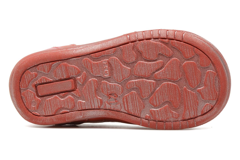Bottines et boots GBB Béatrice Rouge vue haut