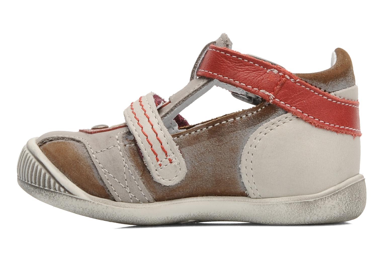 Stiefeletten & Boots GBB Bernie grau ansicht von vorne